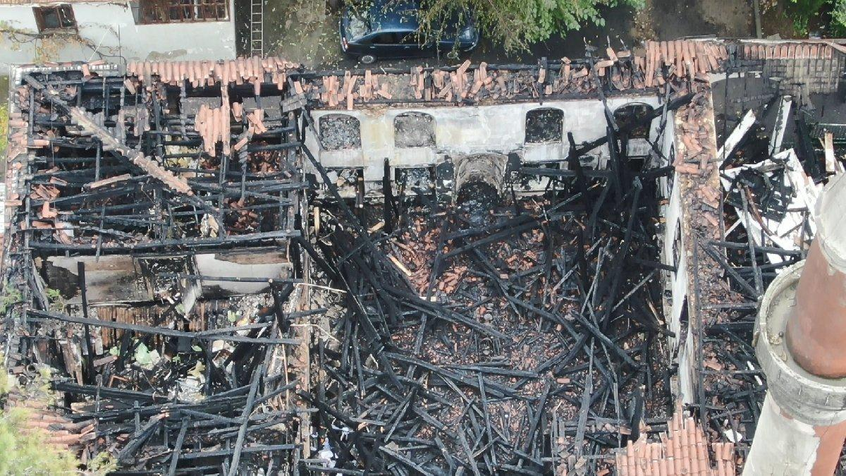 Son dakika... Vaniköy Camii'nin nasıl yandığı belli oldu