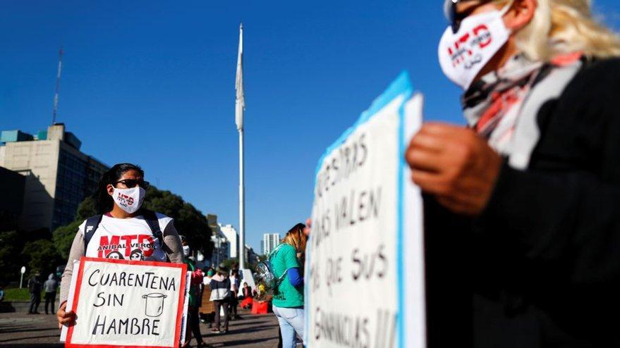 Arjantin'de yoksullara yardım için zenginlere ek vergi