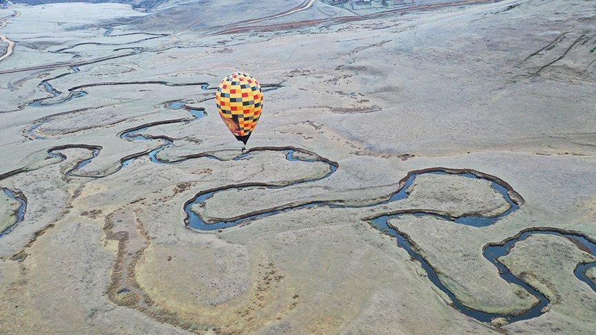 Karadeniz yaylalarında 'balon' turizmi