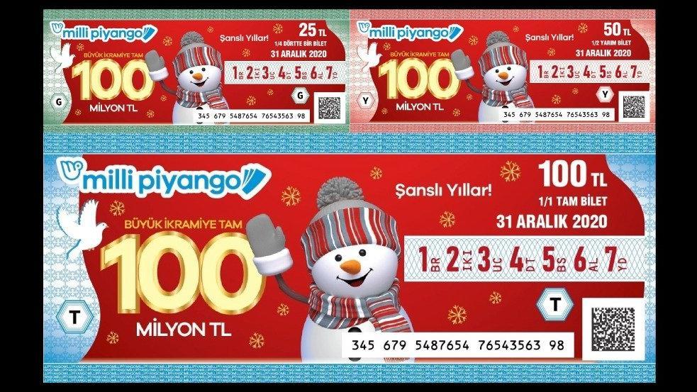 Milli Piyango yılbaşı biletleri satışta: Büyük ikramiye 100 milyon TL