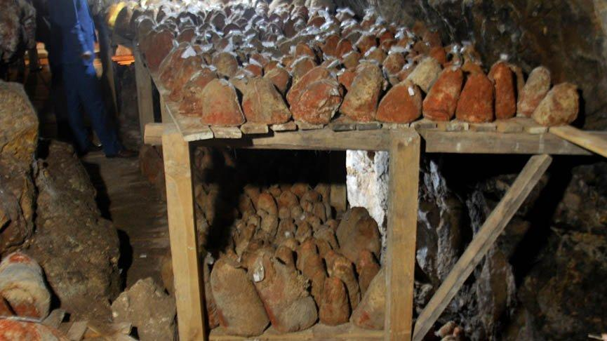 Divle peynirine talep artınca 60 yıldır kullanılmayan mağara üretime geçti!