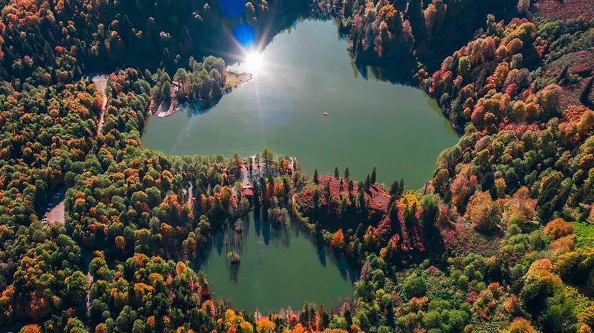 Artvin'den masalsı sonbahar manzaraları