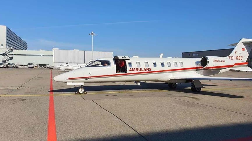 Ambulans uçakla yurtdışından coronalı hasta getirmek yasaklandı