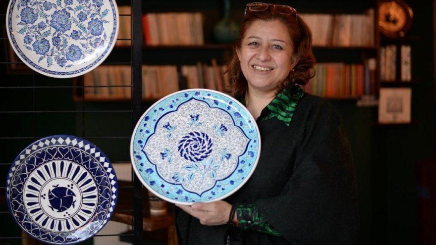 Başkentli kadınlar BELMEK'te 2 bin yıllık çini sanatını öğrenip, yaşatıyorlar