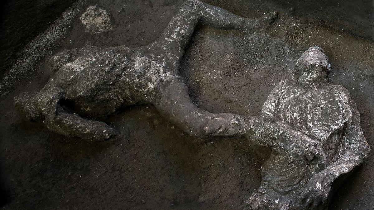 Pompeii'deki en iyi korunmuş bedenler ortaya çıktı