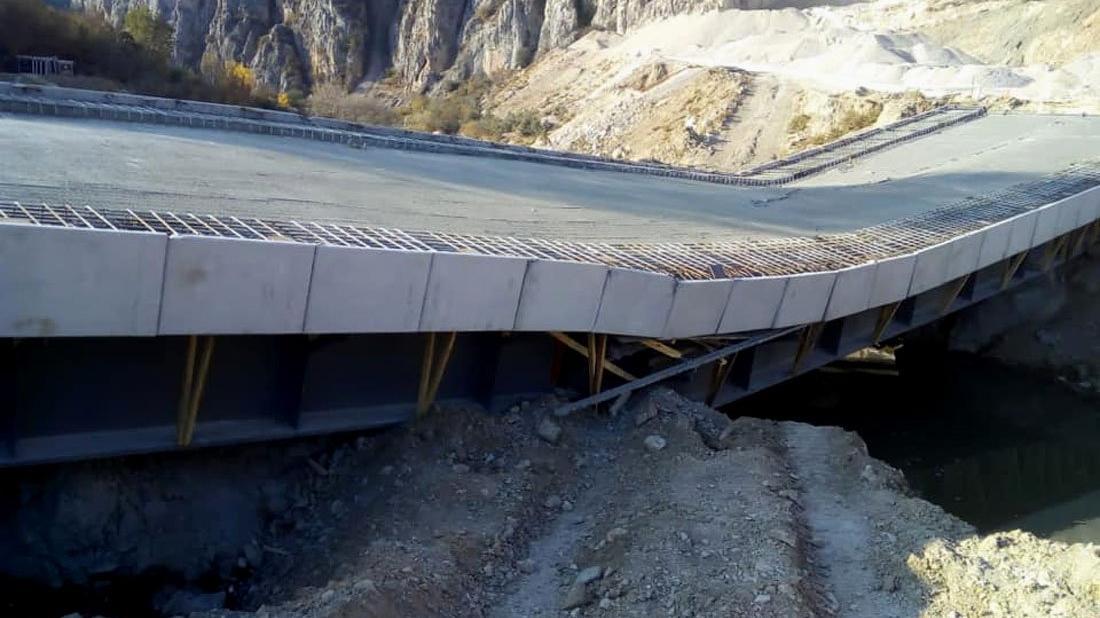AKP'nin açılmadan yıkılan köprüsü 3.4 milyon lira