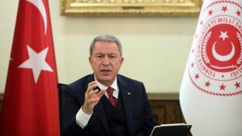 Hulusi Akar'dan Fransız Senatosu kararına tepki