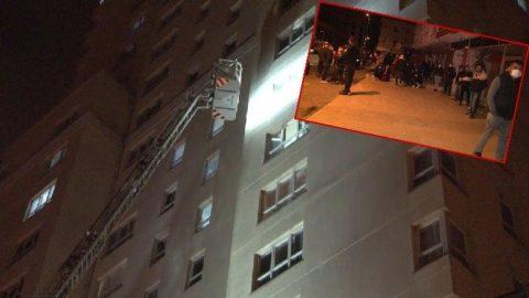 İstanbul'da yangın paniği: Vatandaşlar geceyi böyle geçirdi