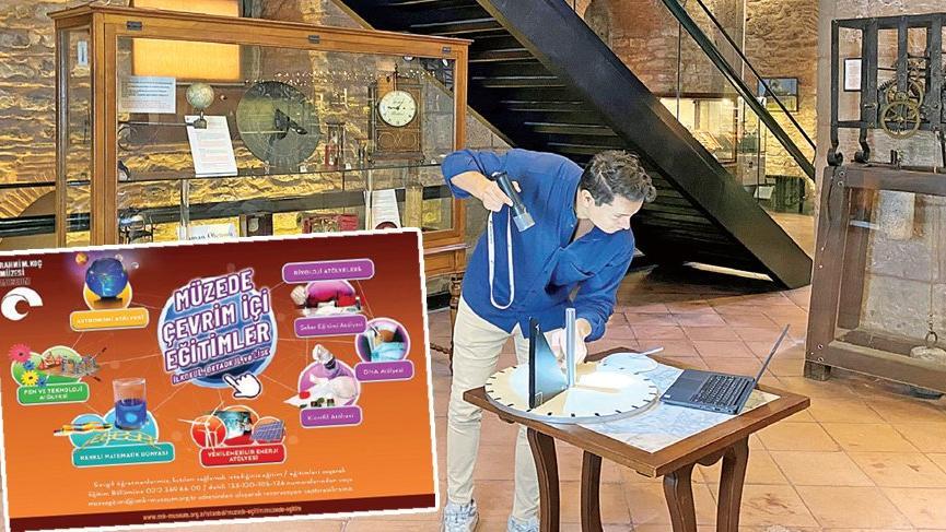Rahmi Koç Müzesi'nden sınırlar ötesi eğitim