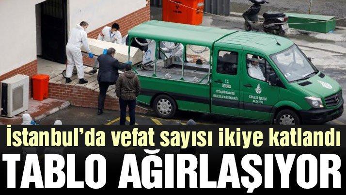 İstanbul'daki vefat sayılarında korkutan tablo
