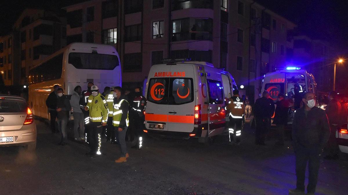 Feci kazada can pazarı: 12 yaralı