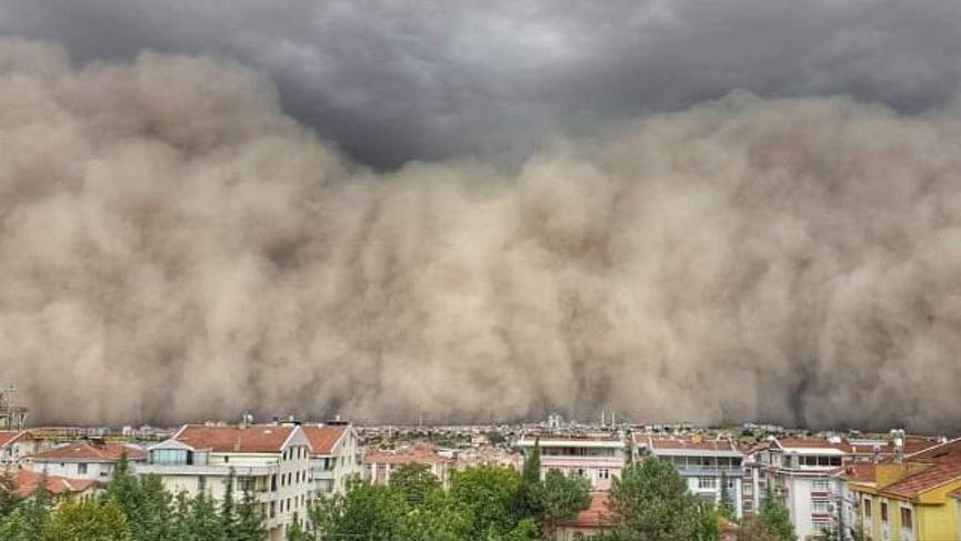 Prof. Dr. Saydam'dan toz fırtınası uyarısı