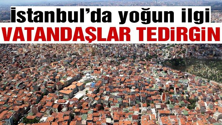 İstanbul'da riskli bina testine yoğun ilgi