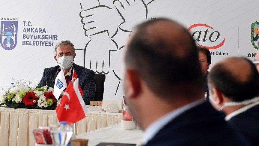 Mansur Yavaş'tan iş yerleri kapanan esnafa: Çare olacağız
