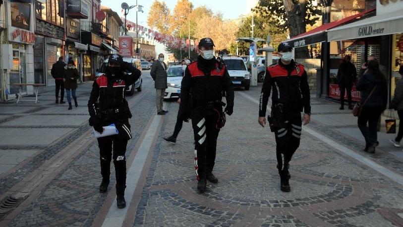 Edirne'de, Bulgarca anonslarla corona uyarısı