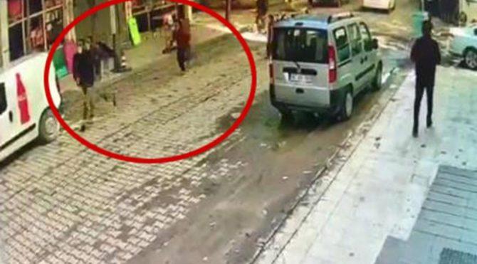 Yolda yürüyen küçük kız dehşeti yaşadı