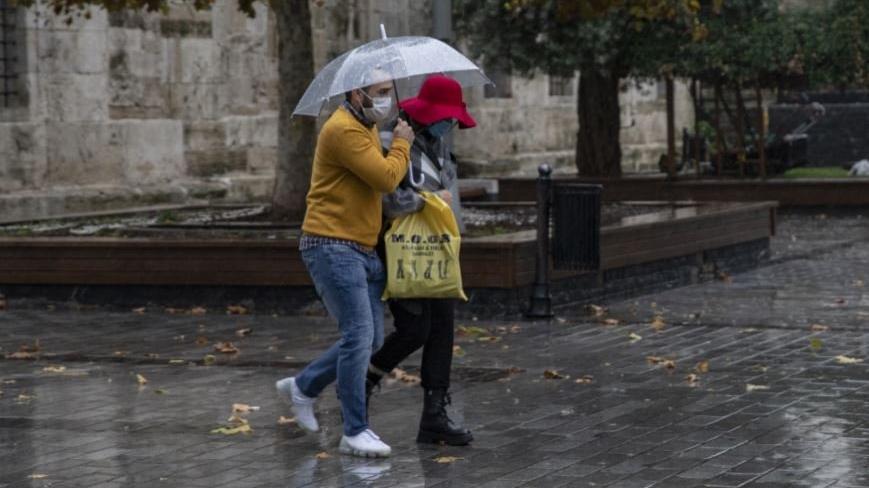 Yeni hafta yağış ve soğuk havayla başlayacak