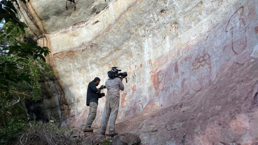 Bilim insanları şaşkın: Amazon ormanlarında 12.500 yıllık çizimler bulundu