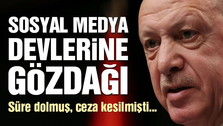 Son dakika… Erdoğan'dan sosyal medya devlerine gözdağı