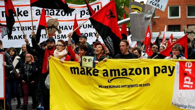 Dünyanın en zengin adamı Bezos'a karşı işçiler ayaklandı