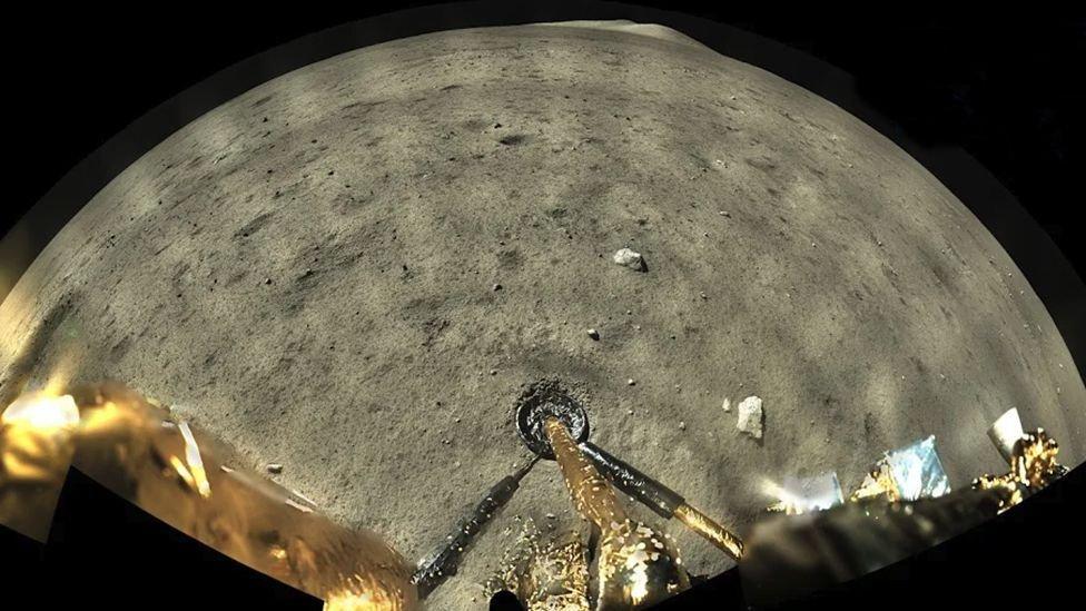 Çin'in Ay görevinden yeni görüntüler: Örnekler toplandı