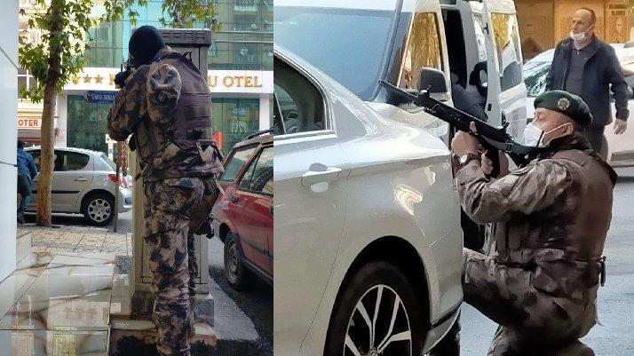 Kahramanmaraş'ta sıcak dakikalar: Bir polis şehit oldu
