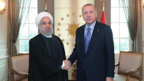 Erdoğan ile Ruhani arasında kritik görüşme