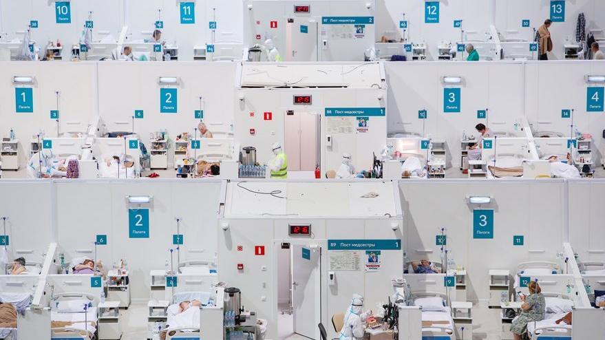 Moskova'da corona virüsü aşı merkezleri oluşturuluyor