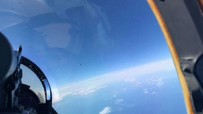 Pentagon'un raporu sızdı! UFO fotoğrafı ortaya çıktı