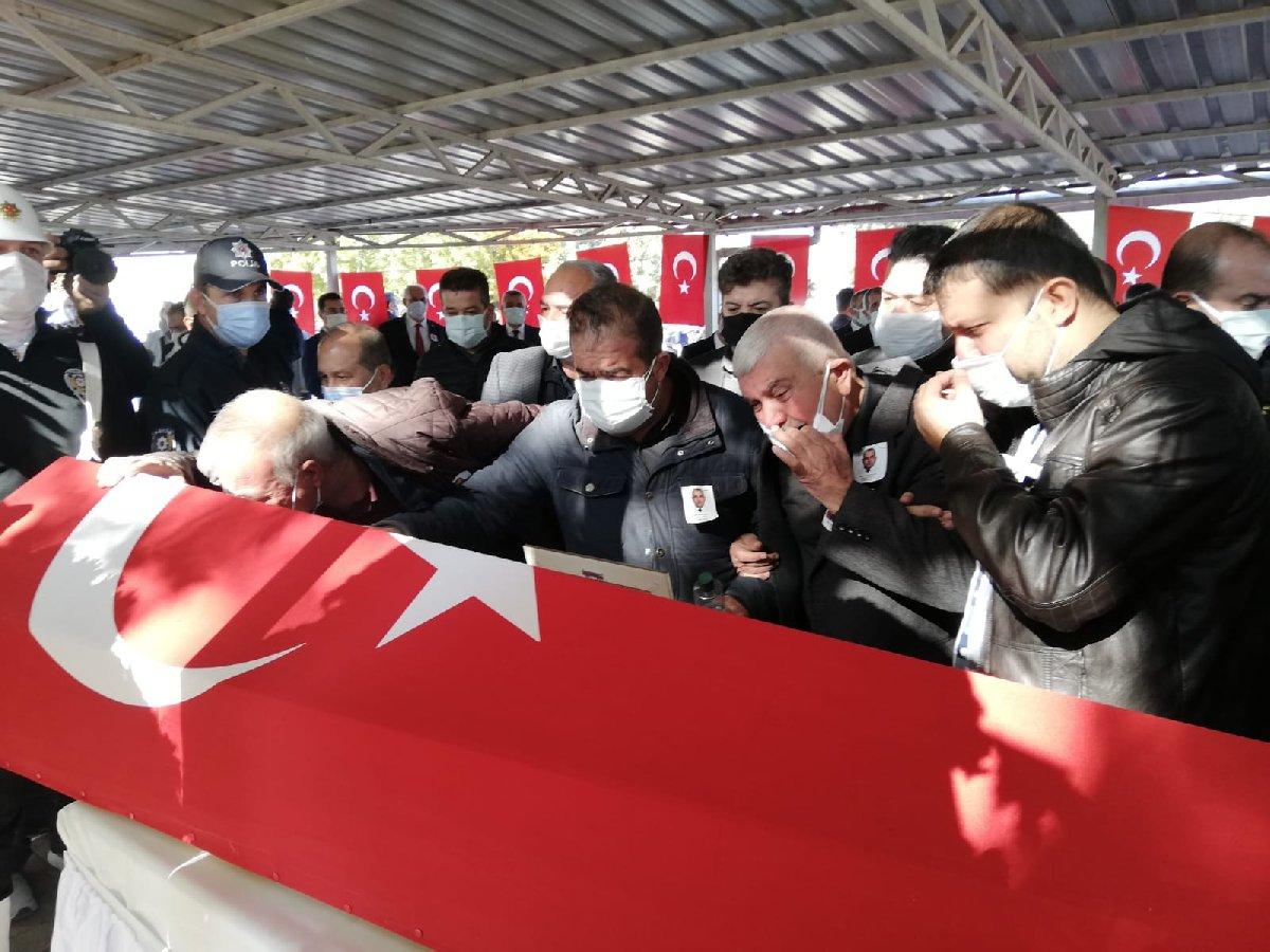 Şehit polis Barış Göl son yolculuğuna uğurlandı