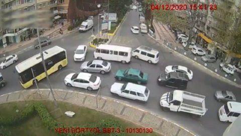 Otobüs şoföründen takdir toplayan hareket