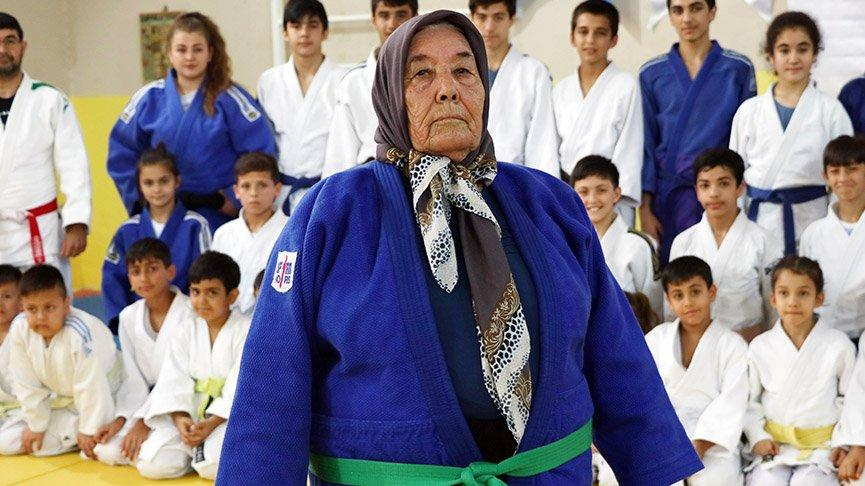 Judocu Ayten Nine coronaya yenildi