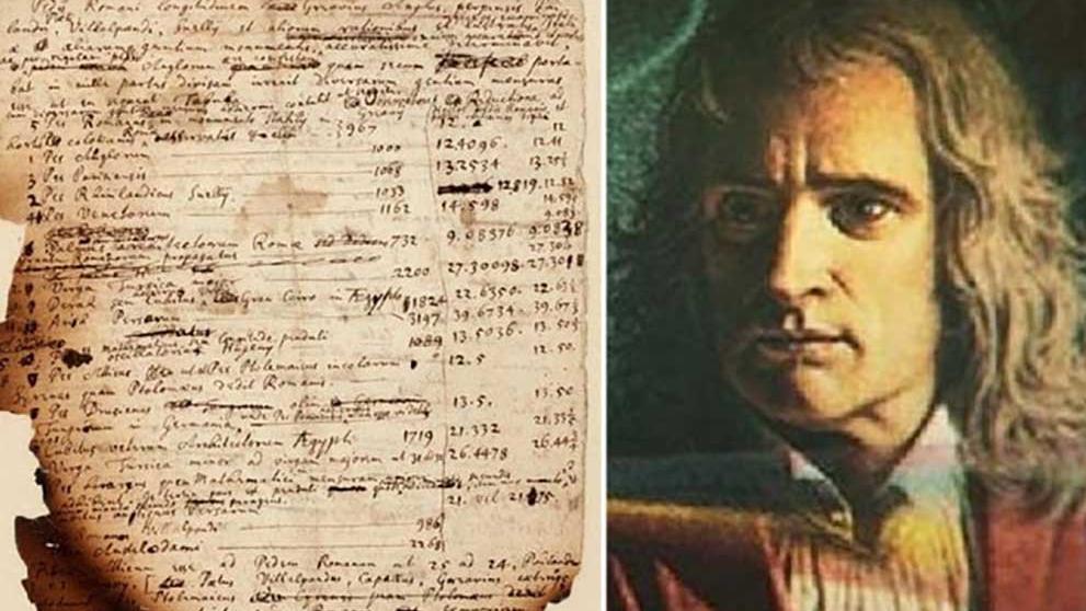 Newton'un kıyamet hesaplamaları açık artırmada