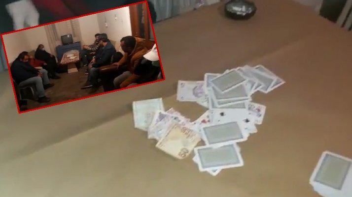 Kumar oynanan eve şok baskın: Ceza yağdı