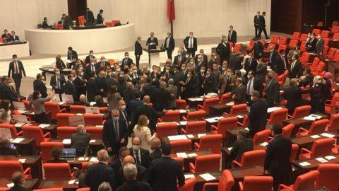 Meclis'te AYM gerginliği