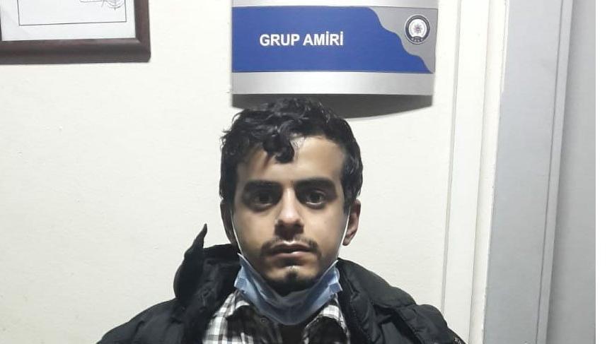 23 yaşındaki suç makinesi elinde megafonla yakalandı