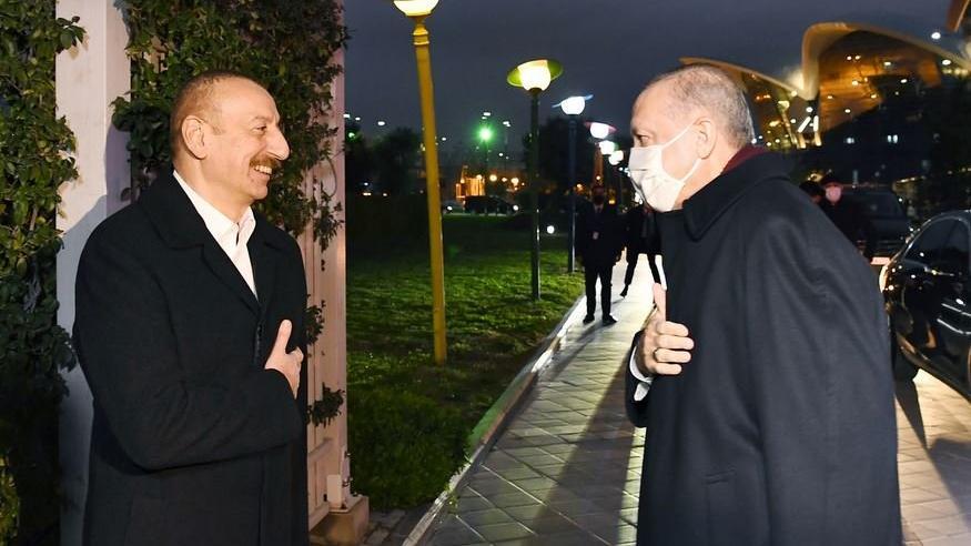 Erdoğan ve Aliyev'den Dağlık Karabağ mesajı: Ermenistan'a kapalı olan kapıları açarız