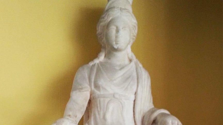 Kybele heykeli 50 yıl aradan sonra Türkiye'ye dönüyor