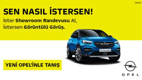 Opel Mobil Manşet Adv. 18 Aralık'20