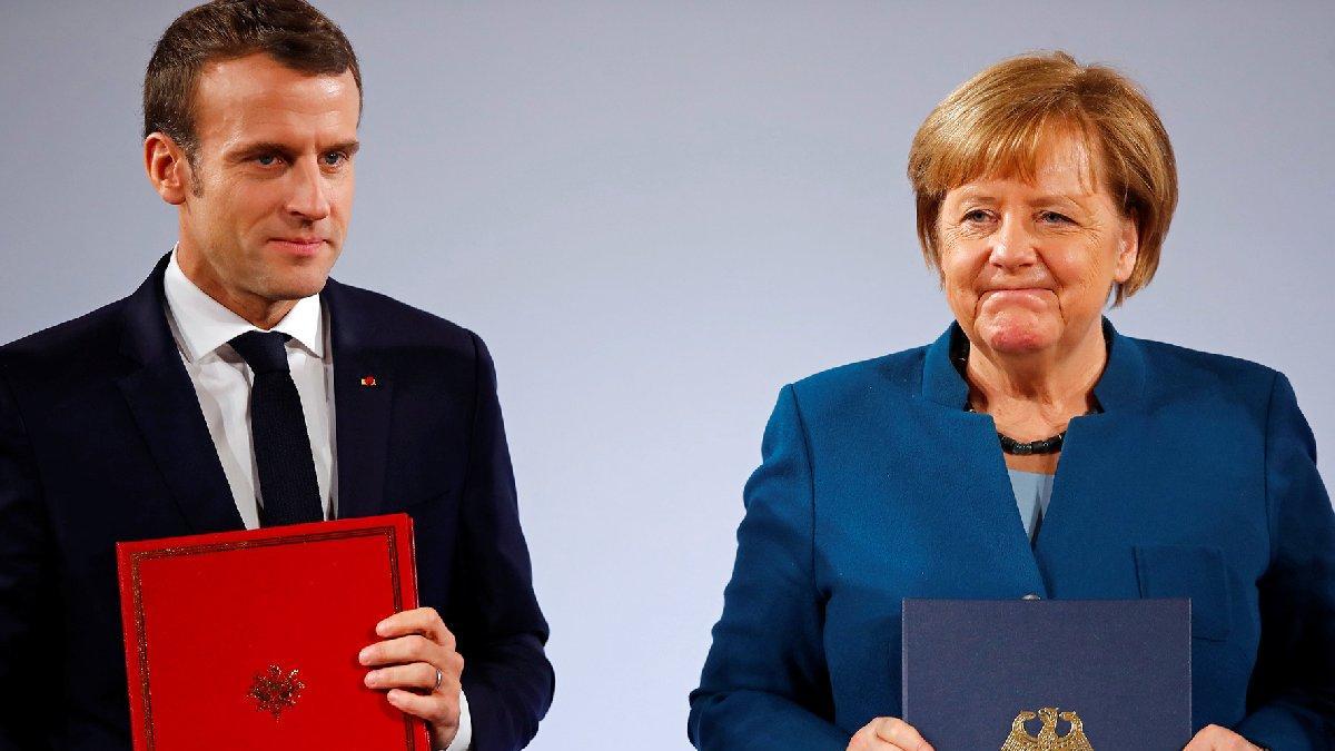AB zirvesi sonrası Merkel ve Macron'dan Türkiye açıklaması: Müsaade yok