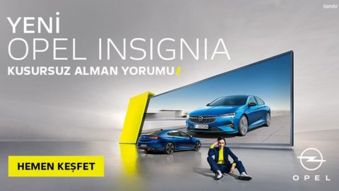 Yeni Opel'inle Tanış!