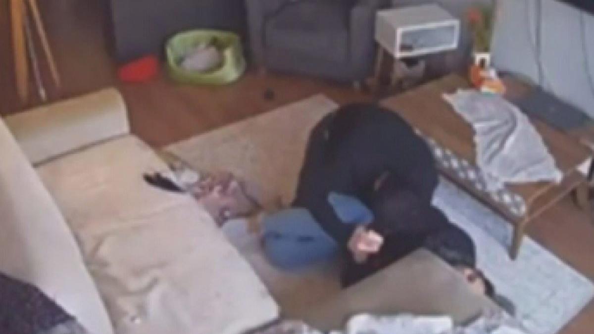 Ayrılmak istediği kız arkadaşına dehşeti yaşattı! O anlar kameraya yansıdı