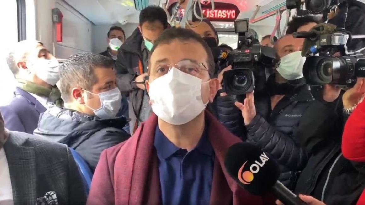 Eminönü-Alibeyköy Tramvay Hattı'nın test sürüşü yapıldı