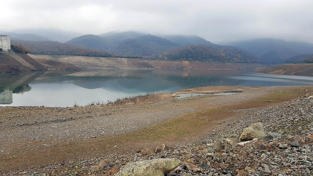 Barajın yüzde 82'si kurudu! 40 günlük su kaldı