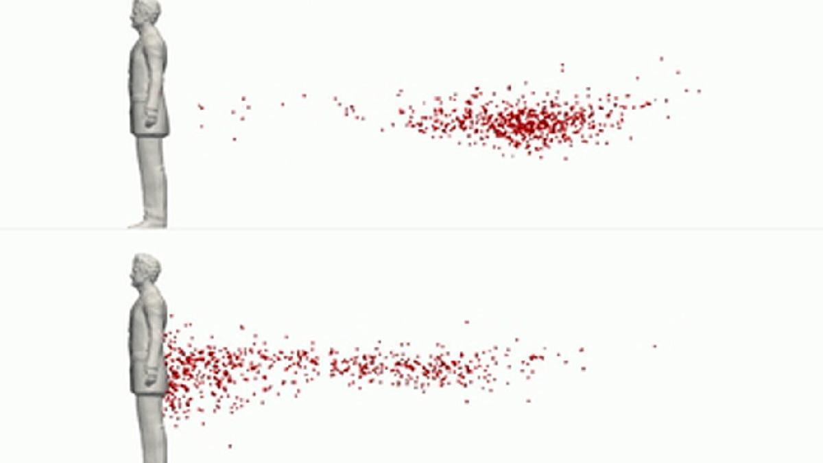 Corona virüsü dar alanda böyle yayılıyor: Görünmez kuyruk gibi takip ediyor