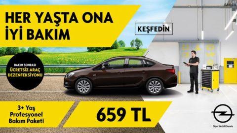 Opel'inize Her Bakımdan İyi Bakım