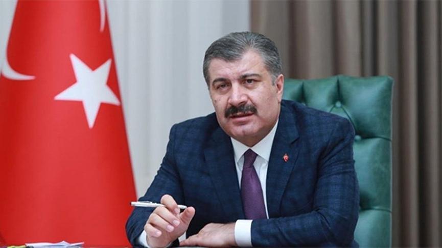 Sağlık Bakanı Koca'dan oksijen tüpü patlamasına ilişkin açıklama