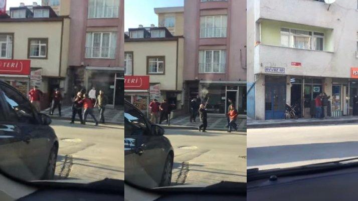 İstanbul'da sokak ortasında pompalı dehşet