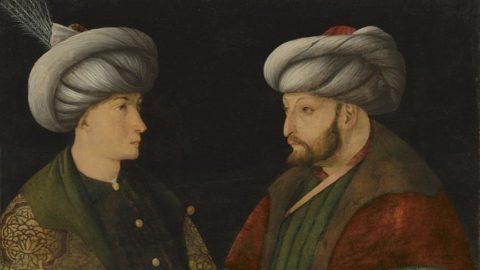Fatih Sultan Mehmet portresine 'sahte' soruşturması