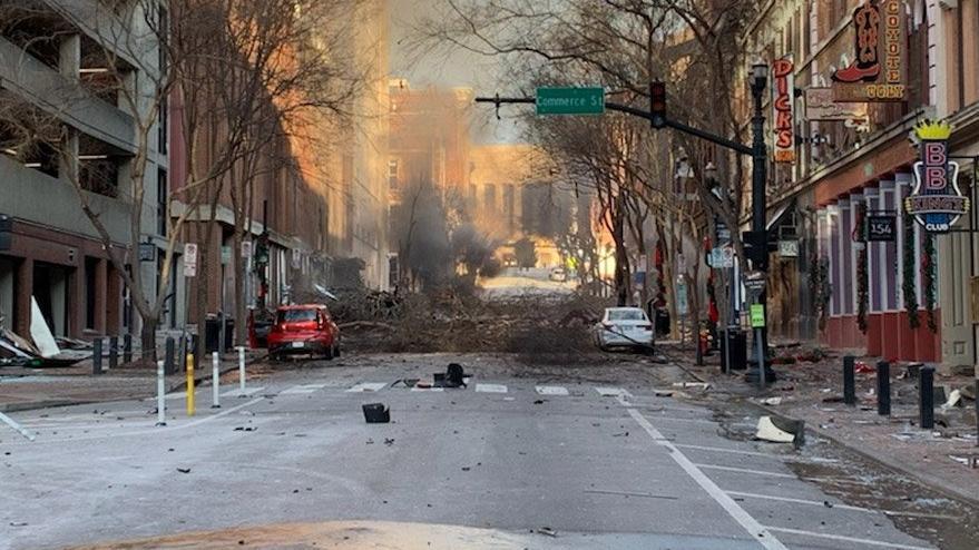 ABD'nin Tennessee eyaletinde patlama